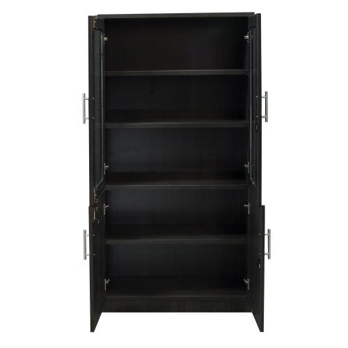 goSIT Everyday Glass Door Bookcase - Open Doors