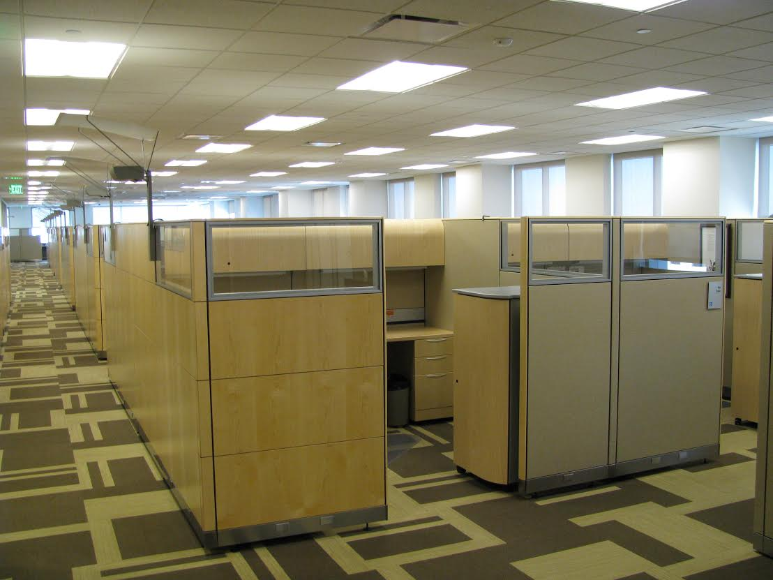 8 X 8 Knoll Used Cubicles Maple National Office