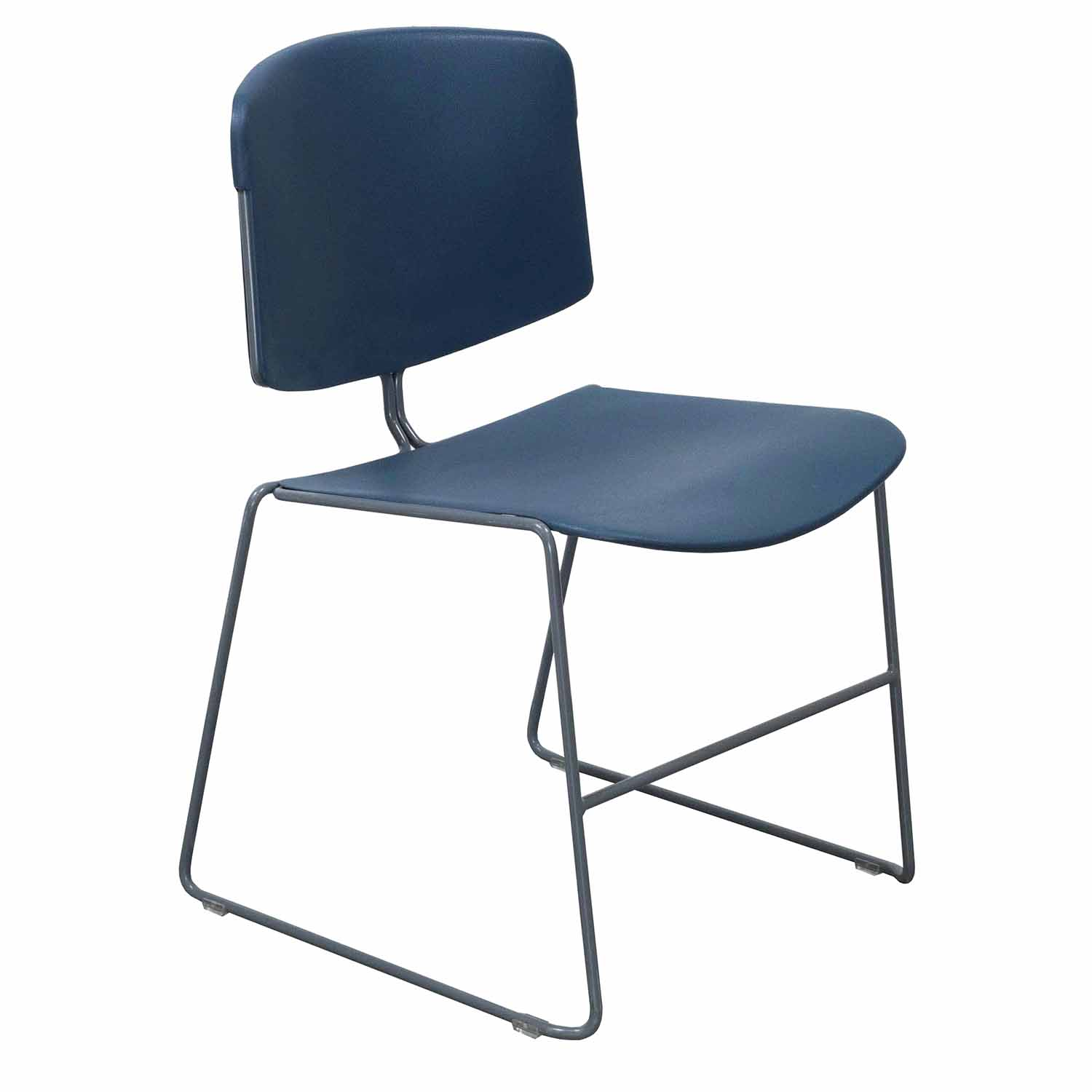Steelcase Used Max Stacker I Chair Slate Blue National