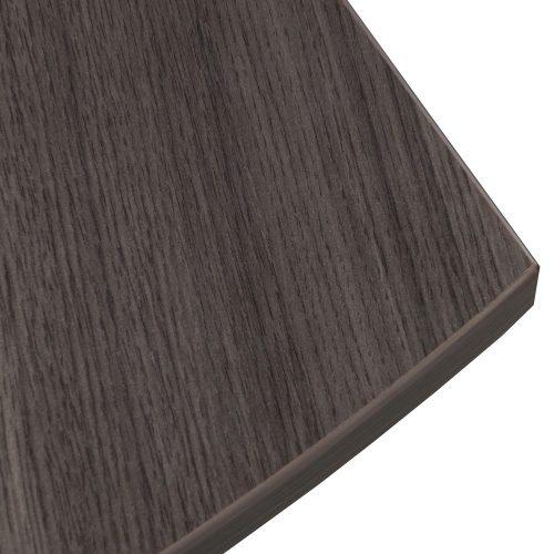 goSIT Everyday Gray Modern L-Shape Desk with Right Return - Corner