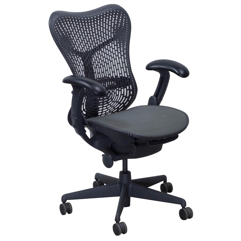 Herman Miller Mirra Used Mesh Seat Task Chair Graphite