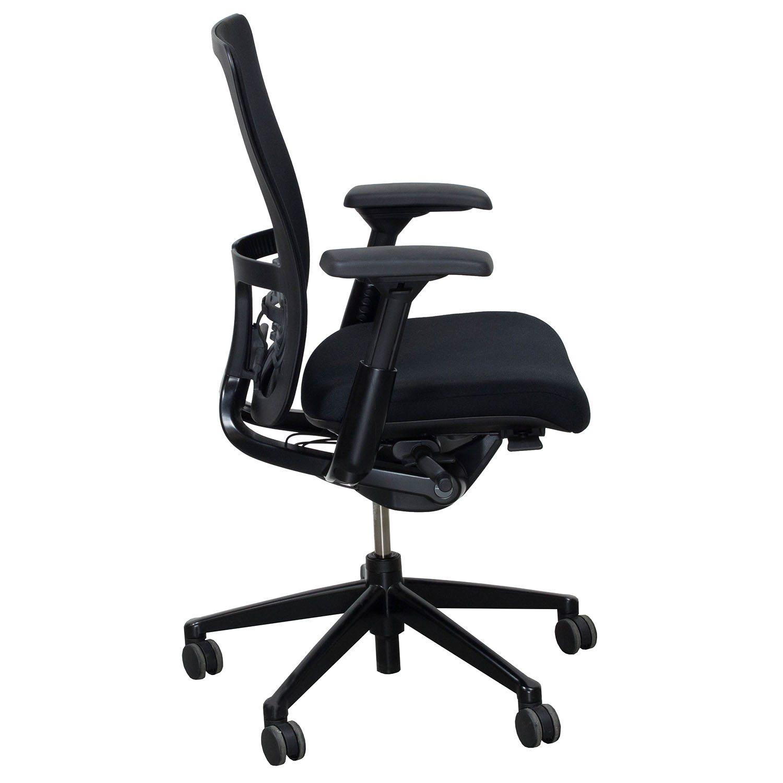 Haworth Zody Mesh Back Used Task Chair Black National