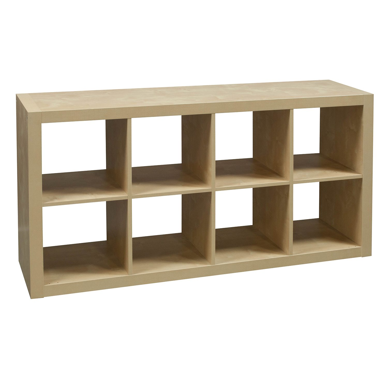 8 Cubby Used Bookcase Maple