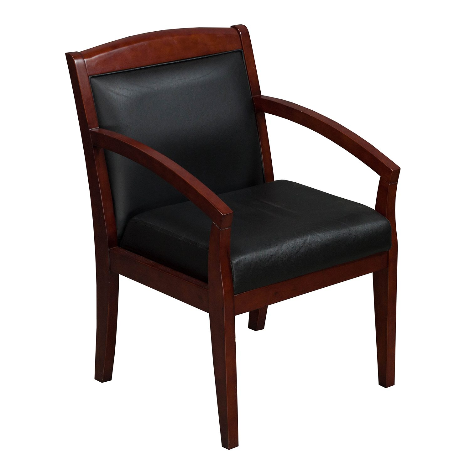 wood side chairs industries used wood side chair black leather 1149