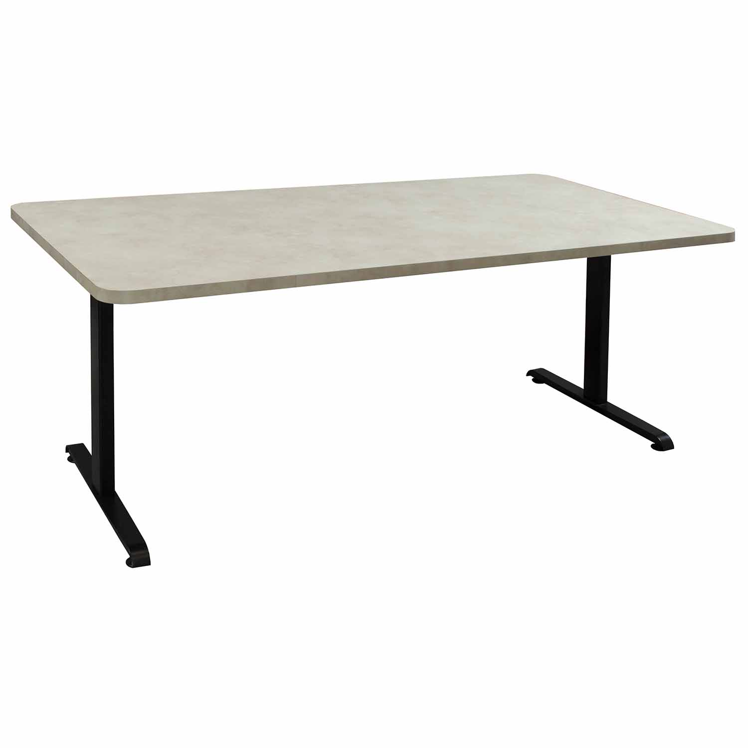 Laminate 36 215 72 Inch Used Training Table Creme National