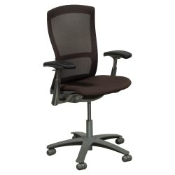 Knoll Life Used Mesh Back Task Chair Brown Front View