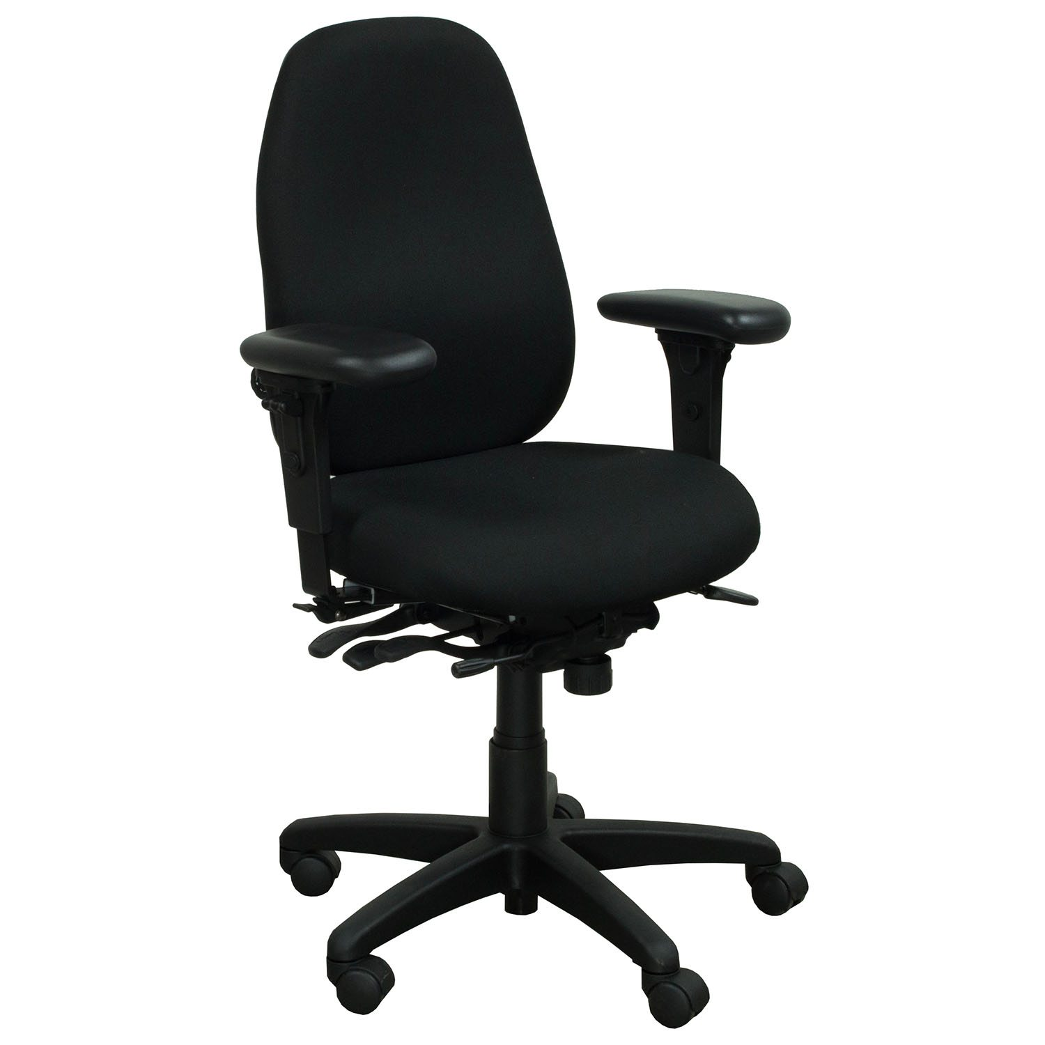 Office Master PT69 Used Task Chair ...  sc 1 st  National Office Interiors and Liquidators & Office Master PT69 Used Task Chair Black | National Office ...