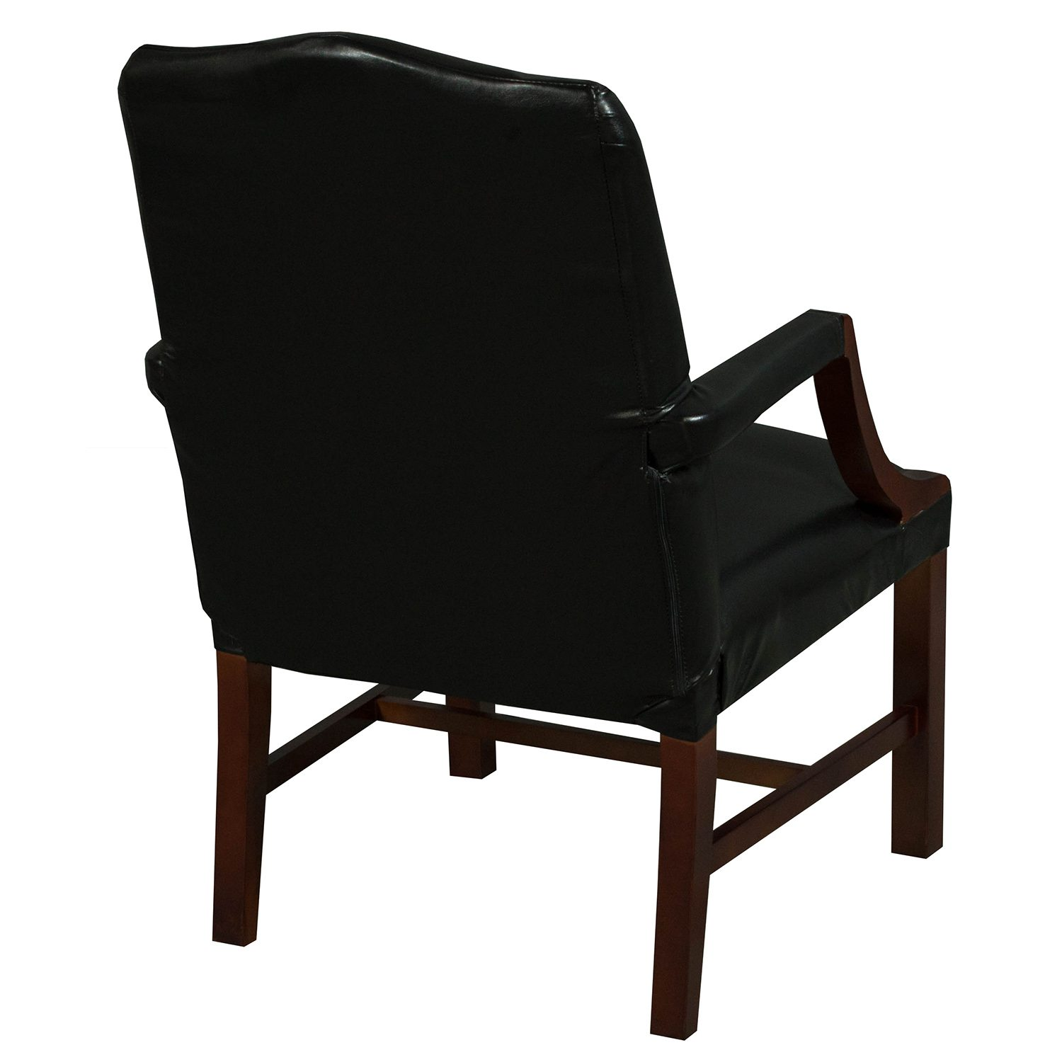 Kimball Independence Suffolk Used Leather Side Chair ...