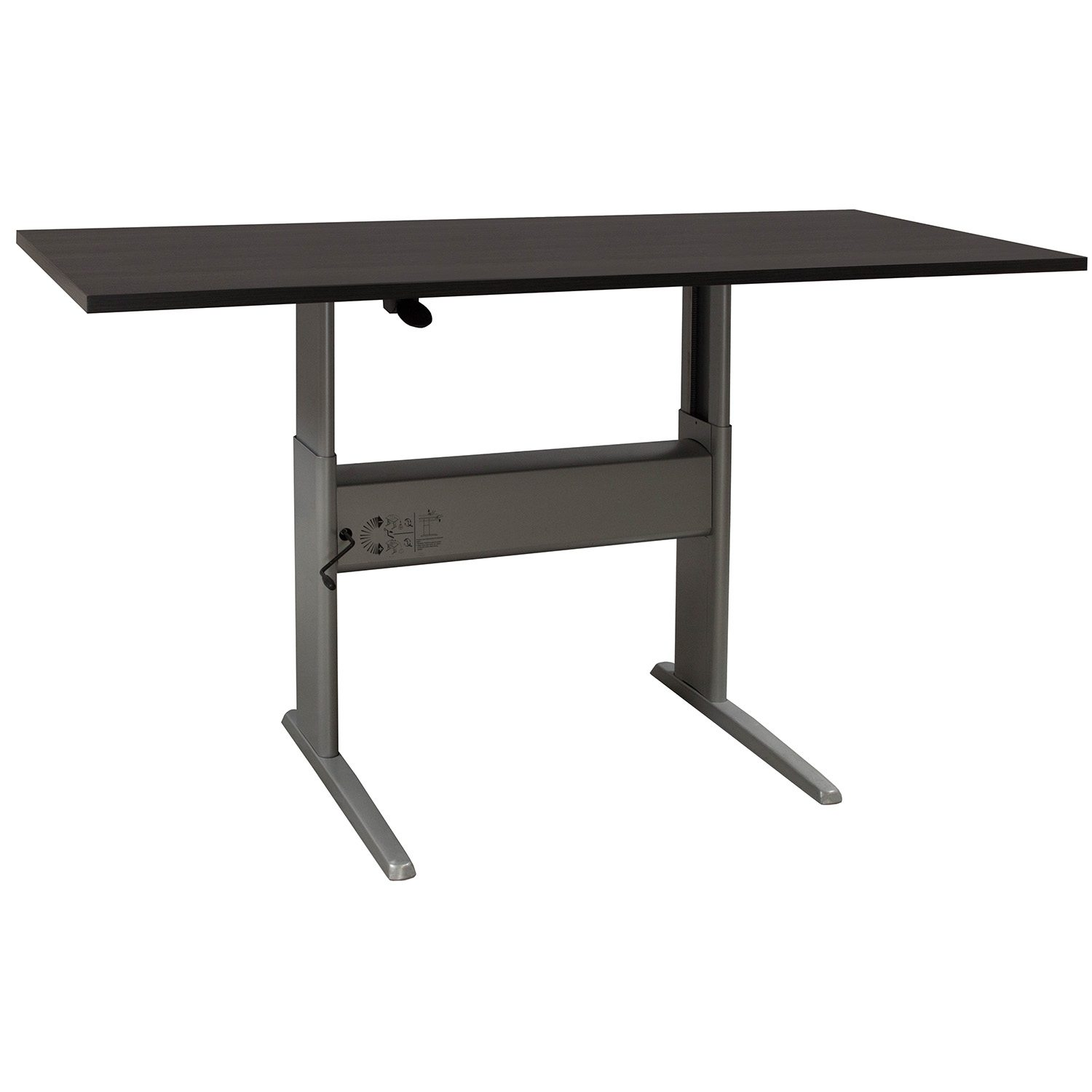Ergotech Used 30 72 Adjustable Height Table National Office