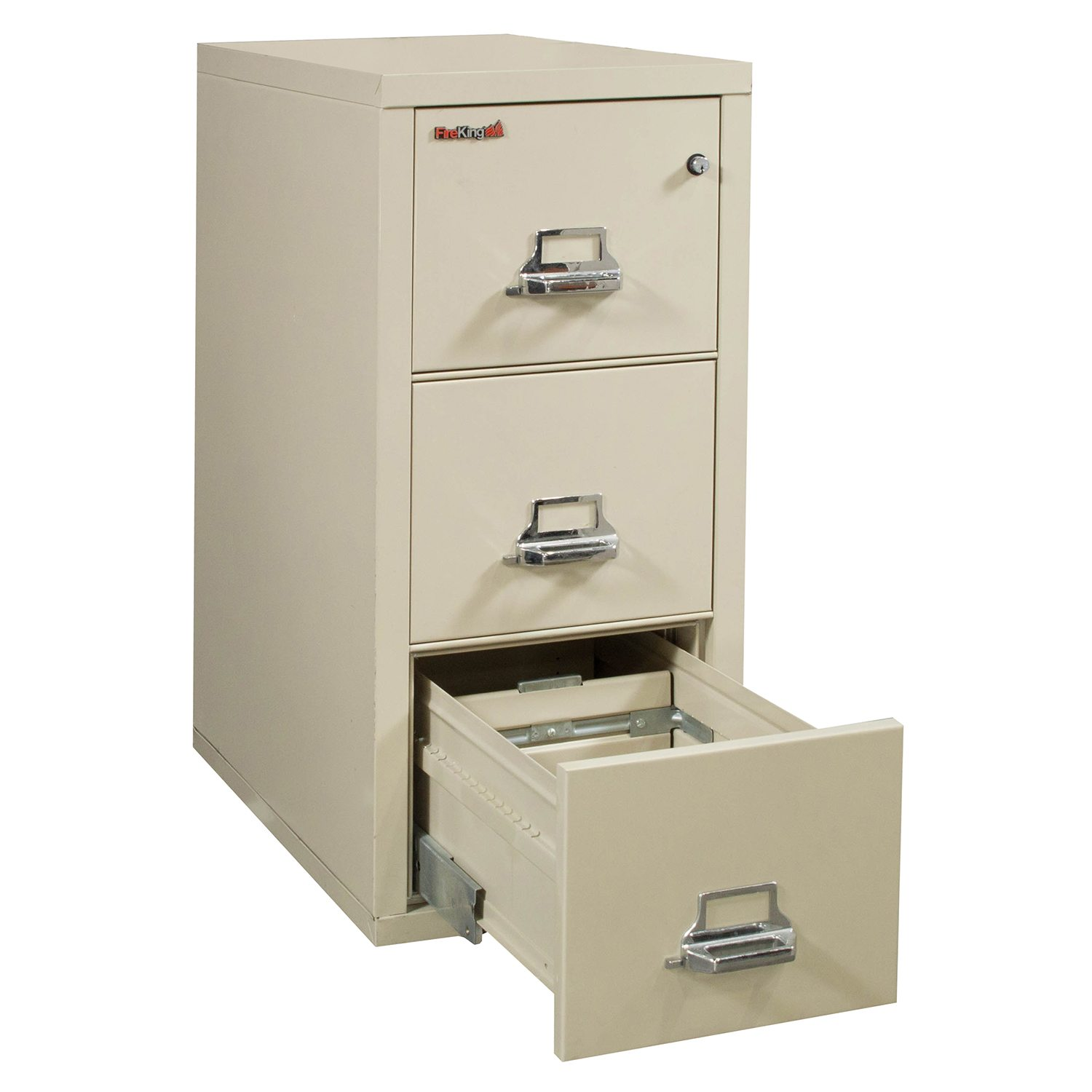 vertical file cabinets fireking used 3 drawer letter size vertical file cabinet 27935