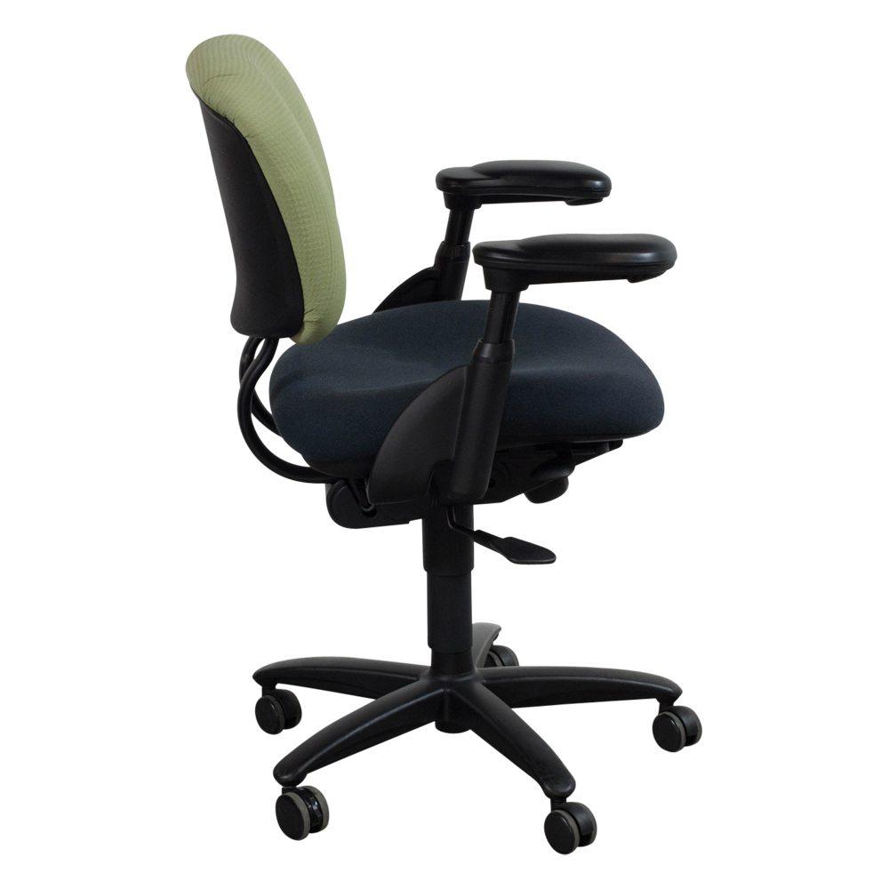 Haworth Improv Used Two Tone Task Chair Green National