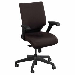 Keilhauer Tom Used Task Chair Brown Front View