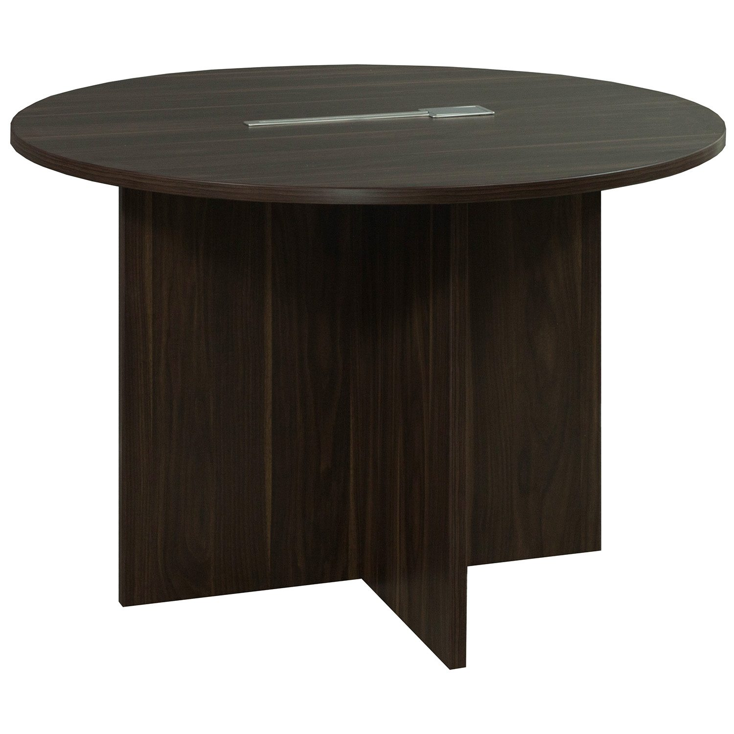 Denmark 42 Inch Round Laminate Meeting Table ...