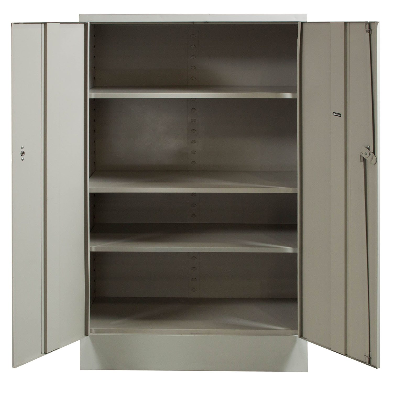 Devon Used 60 Inch Storage Cabinet Light Gray National