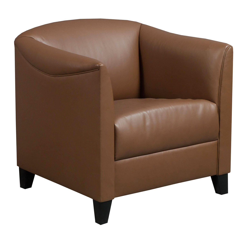 Herman Miller Geiger Used Leather Club Chair Tan