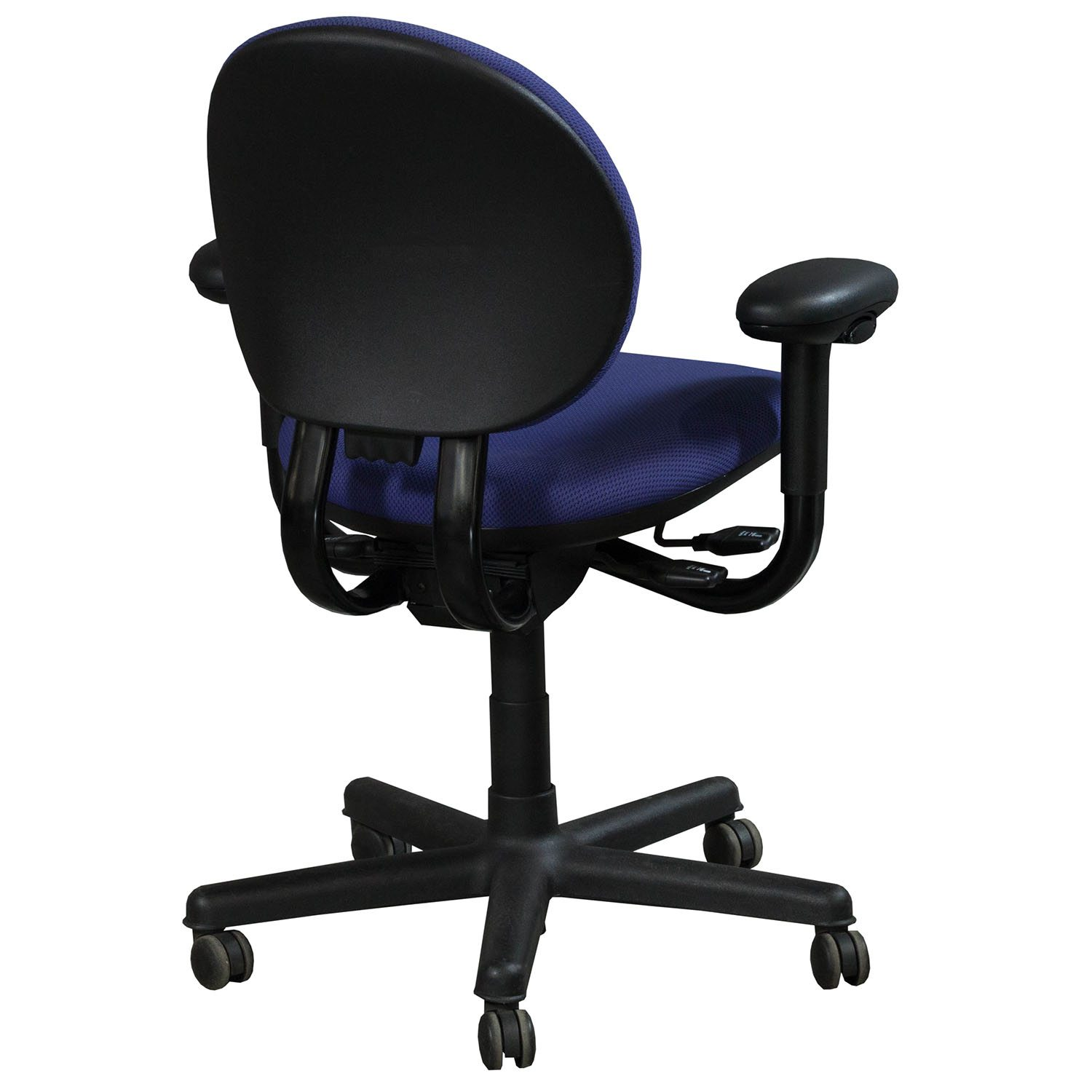 Steelcase Criterion ...  sc 1 st  National Office Interiors and Liquidators & Steelcase Criterion Used Mid Back Task Chair Blue | National Office ...