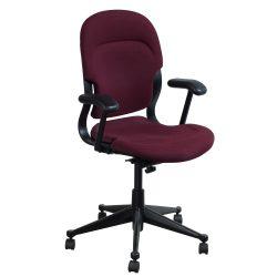 Herman Miller Equa High Back Used Task Chair, Maroon