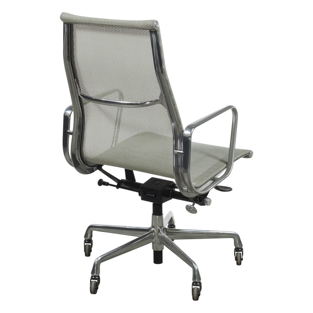 Herman Miller Eames Mesh Conference Chair Light Gray