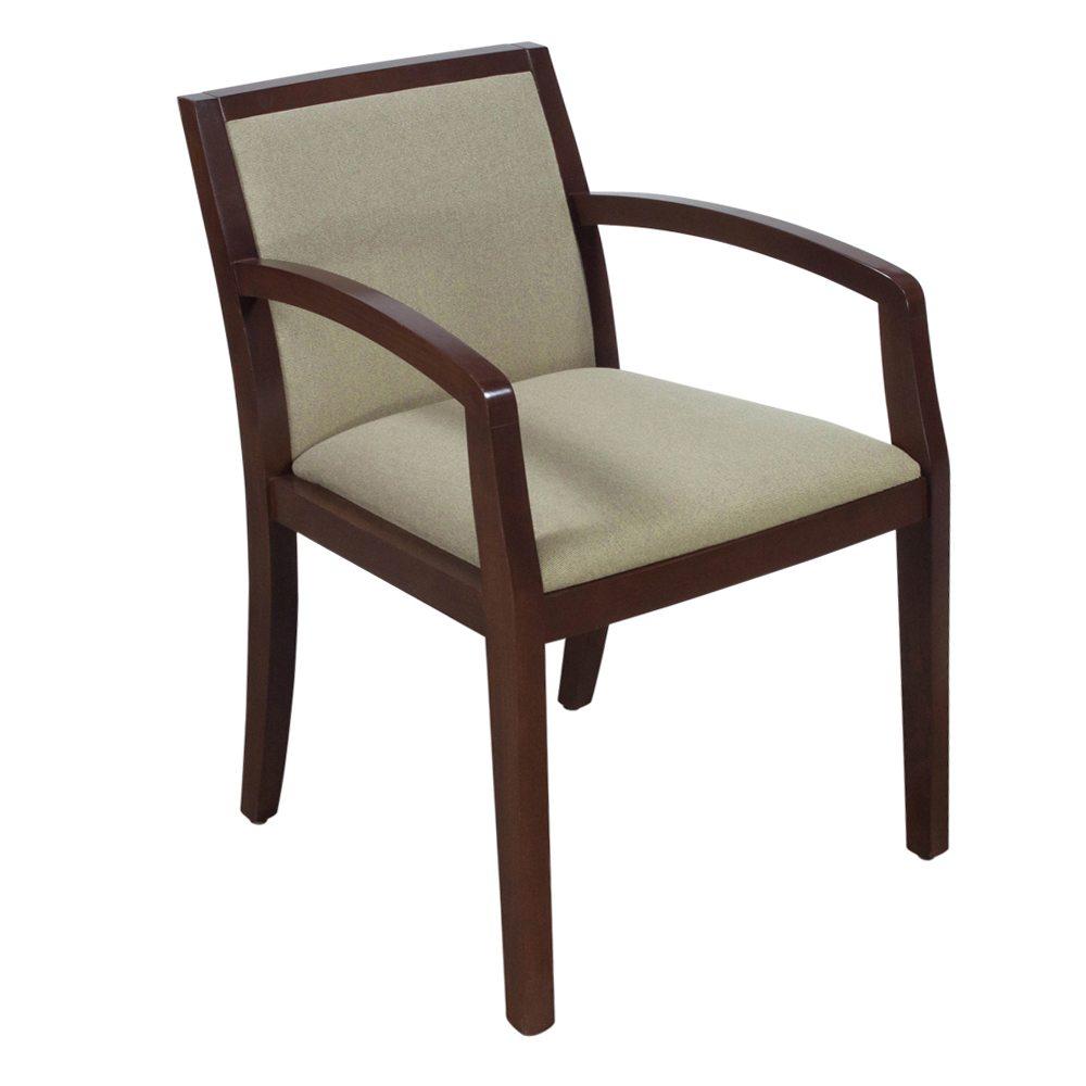 Herman Miller Geiger Used Walnut Chair Tan