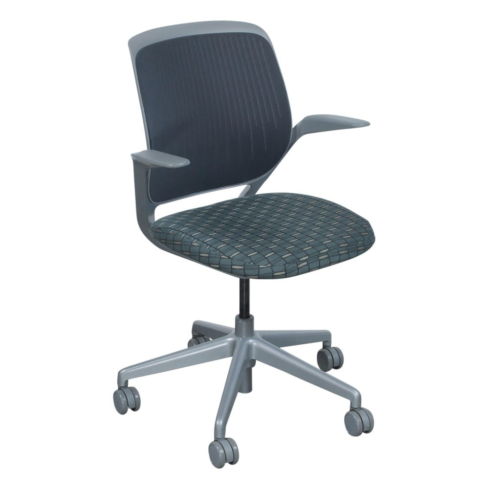 Steelcase Cobi Used Gray Mesh Conference Chair ...
