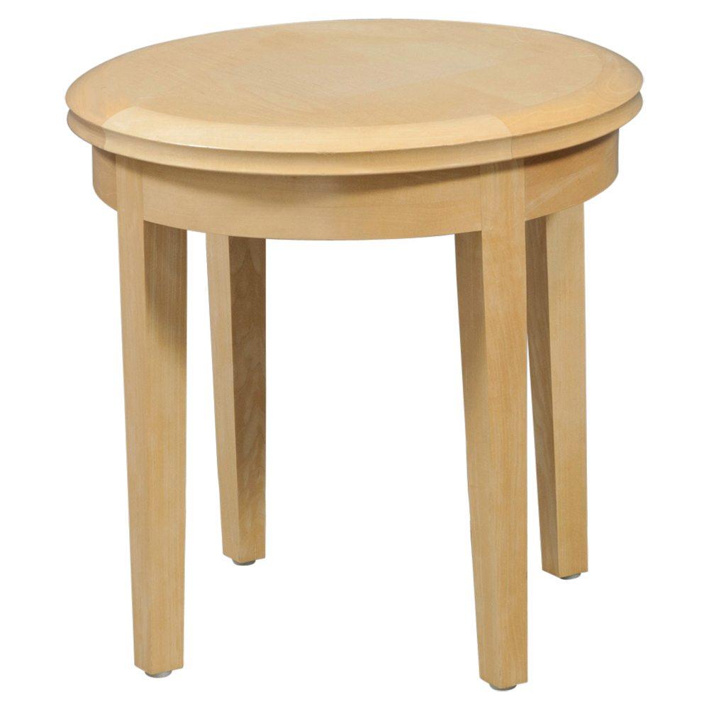 Used Wood Veneer 20 Inch End Table Maple National