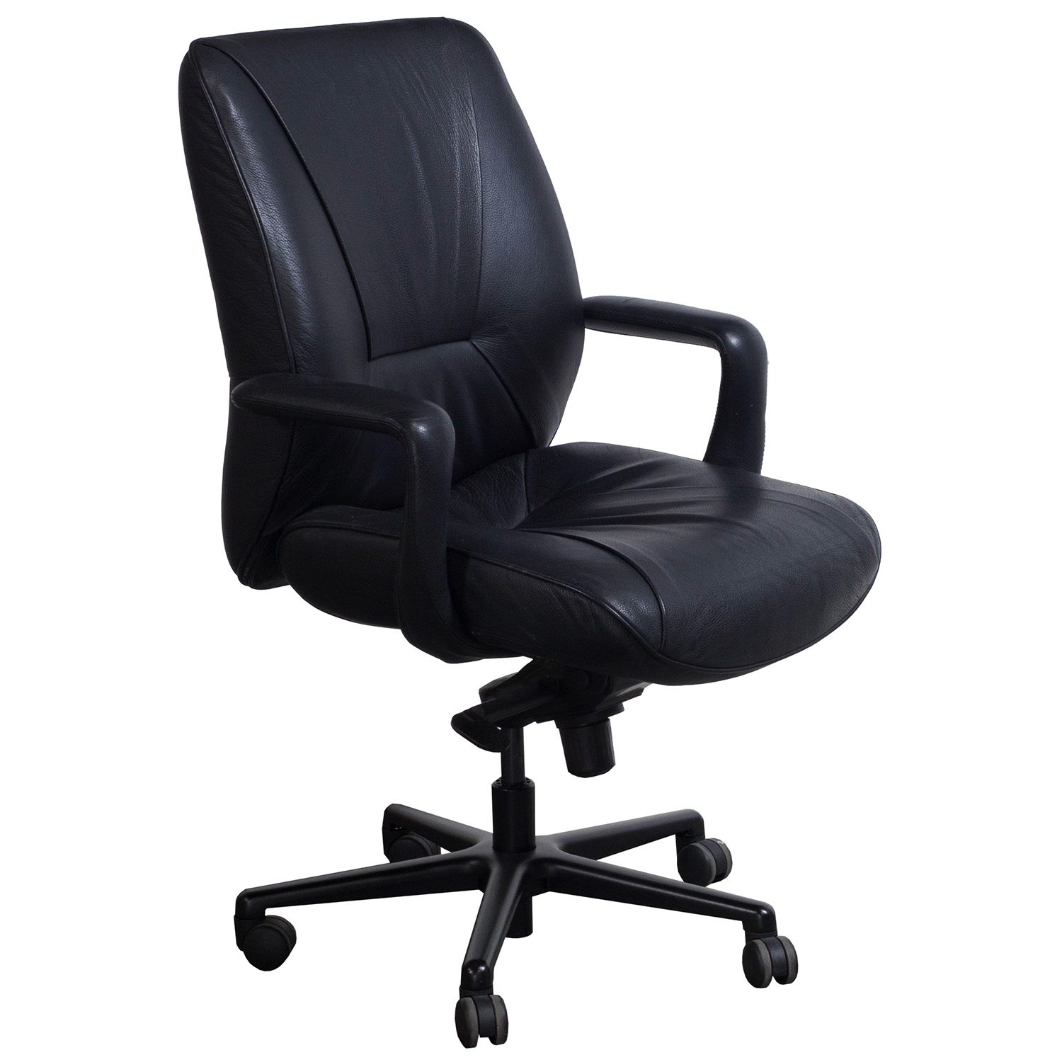 Keilhauer Respons Used Pu Leather Conference Chair Black