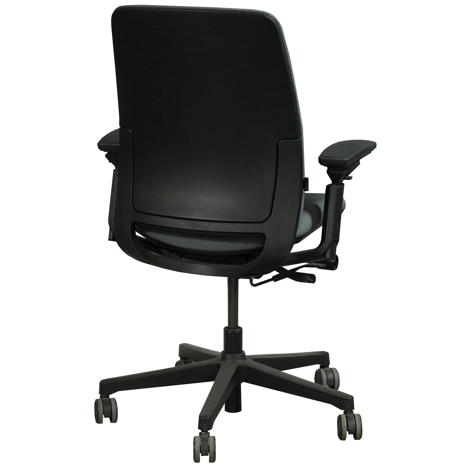 steelcase amia used task chair charcoal national office interiors