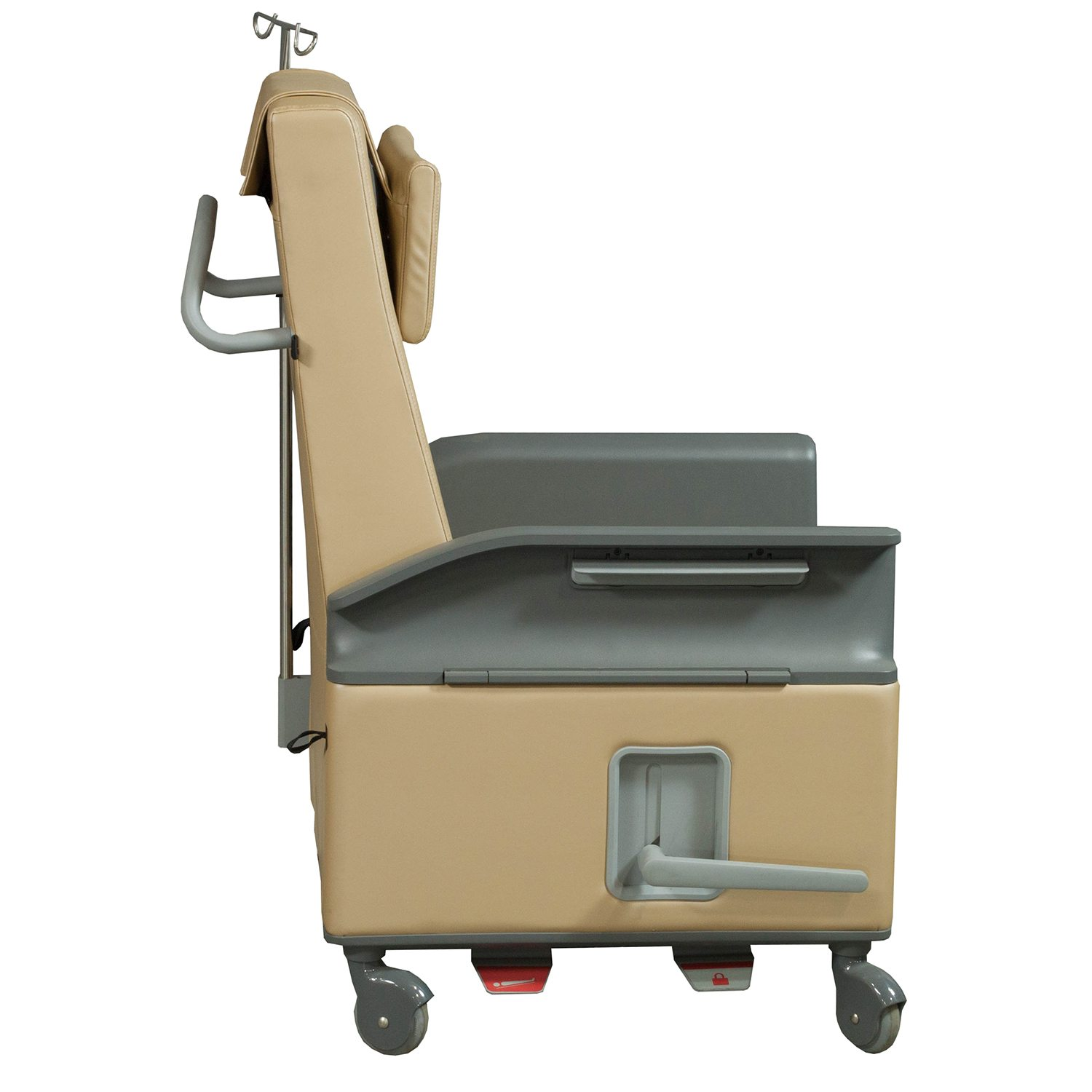 Steelcase Empath Used Leather Recliner Chair Gold