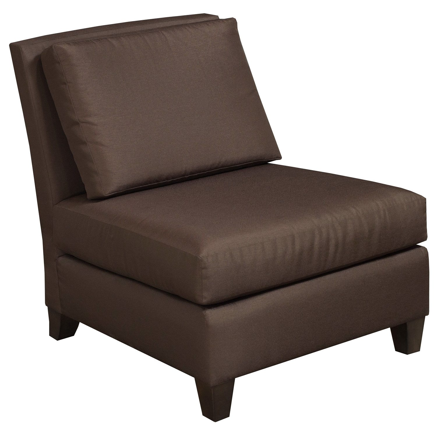 Martin Brattrud Used Lounge Chair Armless Brown