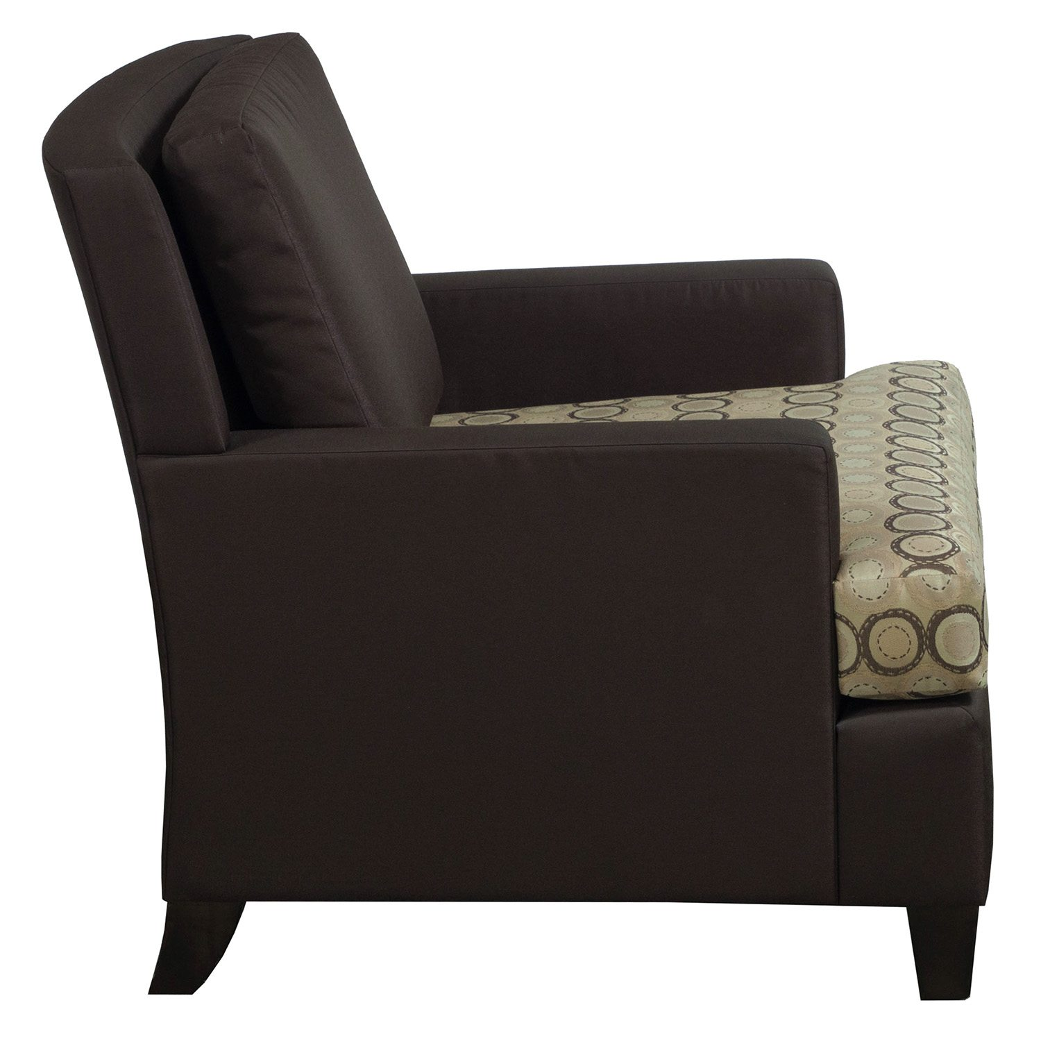 Martin Brattrud Used Lounge Chair W Arms Brown