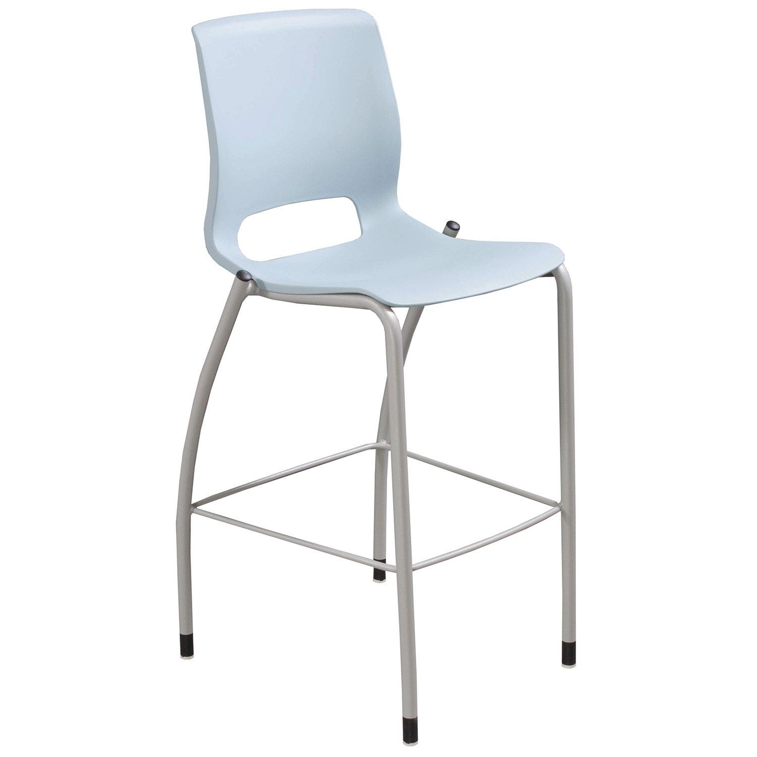 Hon Motivate Armless Cafe Stool Surf Blue National
