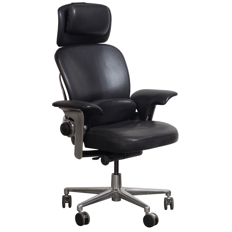 Brilliant Steelcase Leap Used Leather Lounge Chair Black Creativecarmelina Interior Chair Design Creativecarmelinacom
