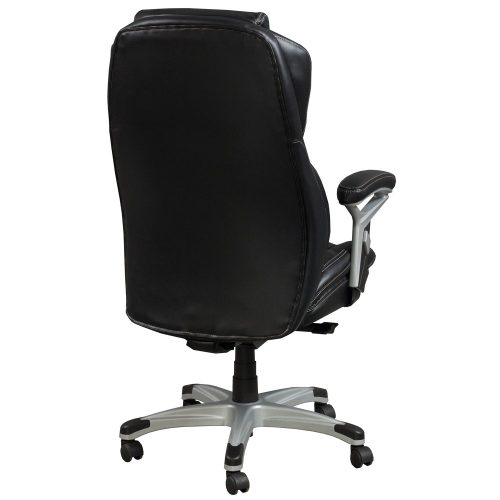 goSIT CS-2089E Black Leather Executive Chair - Back