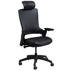 goSIT Black Leather Executive Chair