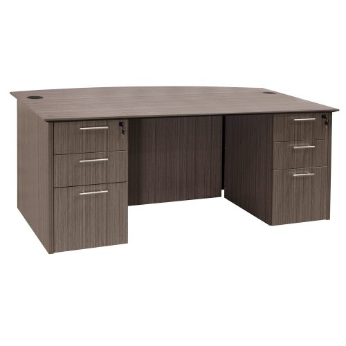 Catalina Drift Double Pedestal Desk - Inside