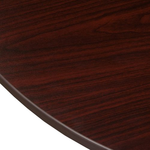 Jersey P Top Left Return in Mahogany - Edge