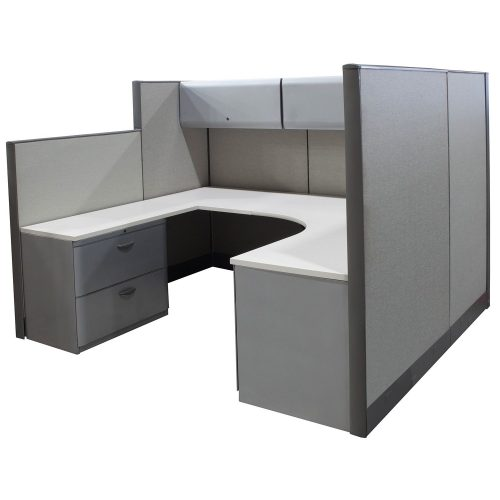 Knoll Dividends in Gray 7x6 - Angle