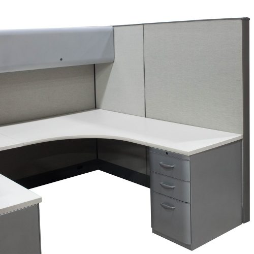 Knoll Dividends in Gray 7x6 - Ped