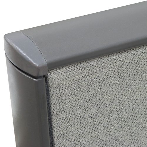 Knoll Dividends in Gray 7x6 - Panel Corner