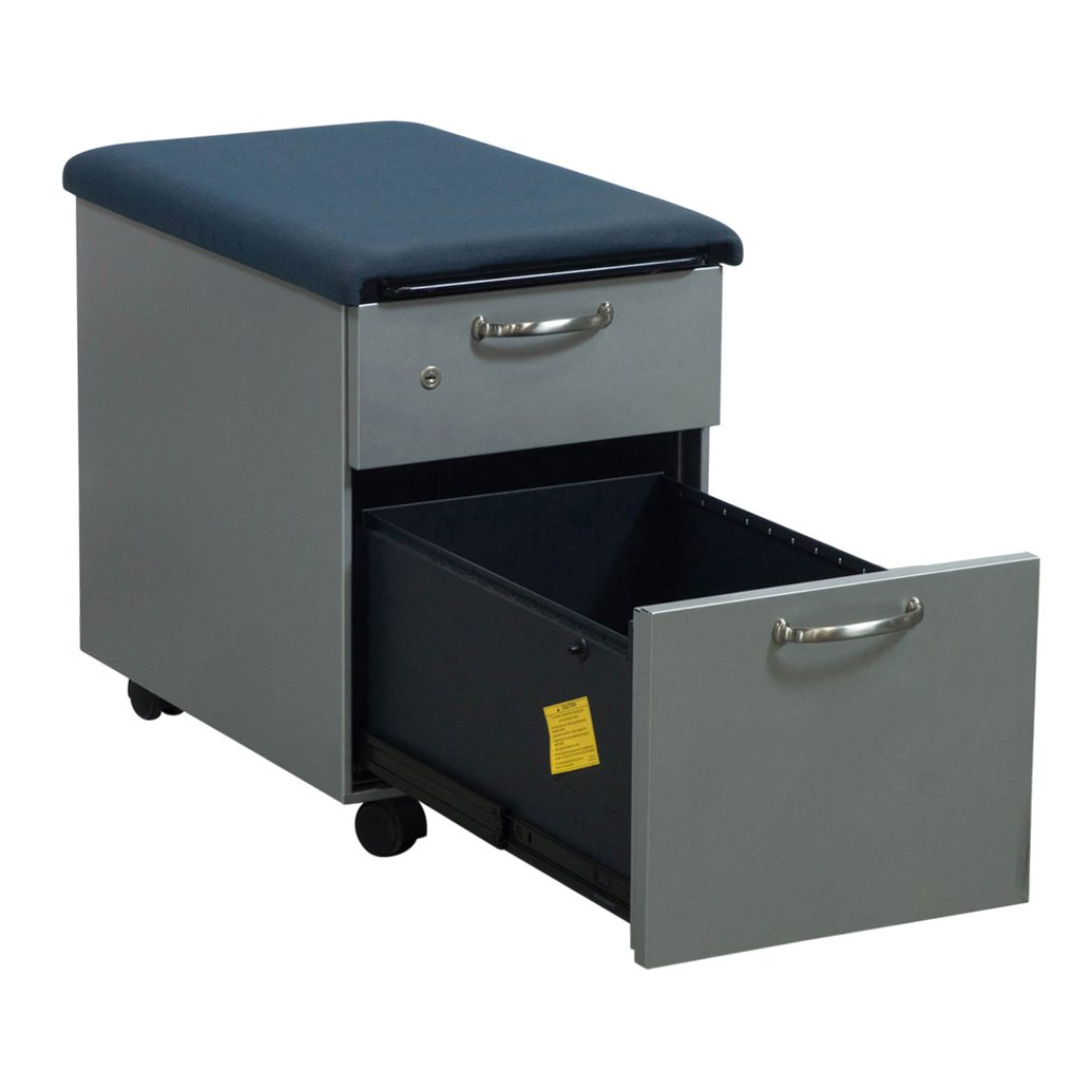 Steelcase Used Mobile Cushion Top Box File Pedestal Platinum National Office Interiors And Liquidators
