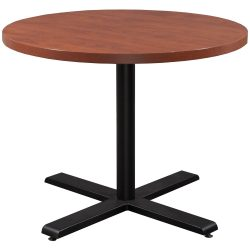 Steelcase Payback 42 Inch Round Table Cherry
