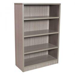 Catalina 4 Shelf Laminate Bookcase in color Drift