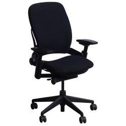 Steelcase Leap V2 Task Chair in Black