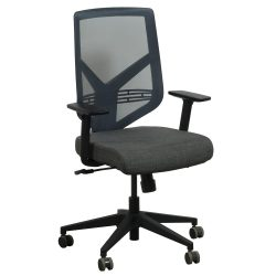 goSIT TF-15ZB Mesh Back Chair in Gray