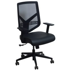 goSIT TF-15ZB Mesh and Leather Task Chair