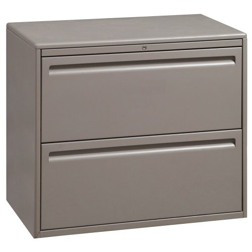 Haworth 2 Drawer 30 Inch Lateral File in Tan
