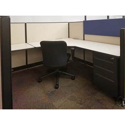 Haworth 6x6 Cubicle in Creme