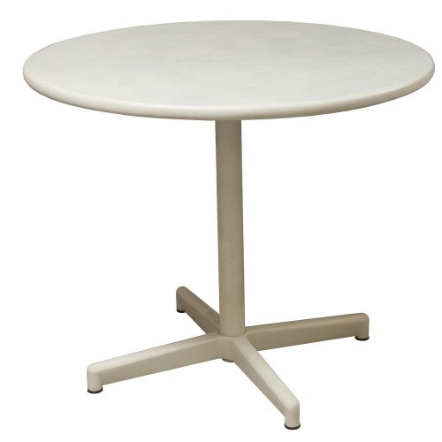 Steelcase 36 Inch Break Room Table in Creme