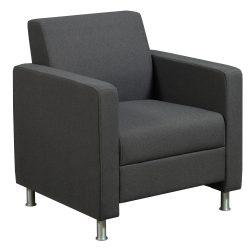 Ideon Composium Sharp Club Chair in Spice Chai