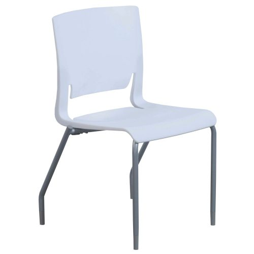 SitOnIt Rio Frost Stack Chair - Front